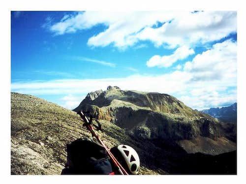 Croda Rossa (the only summit...