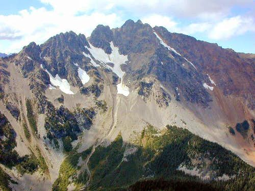Azurite Peak from the...
