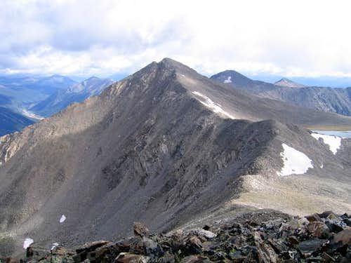 Pacific Peak from the summit...