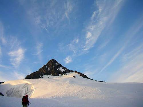 Shuksan summit pyramid from...