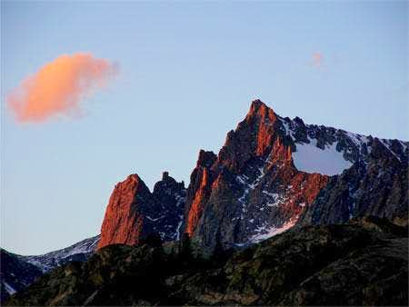 Mt. Helen at sunset from...