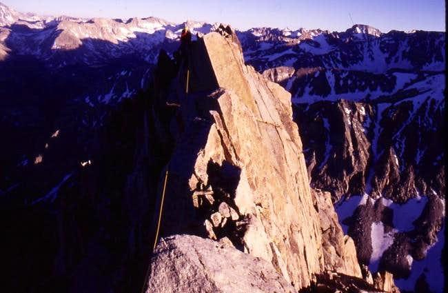 Gendarme on Mount Emerson -...