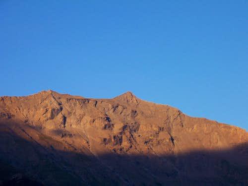 Sunset on Rocciamelone