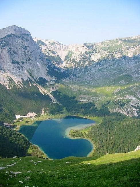 Trnovacko lake. July, 2005