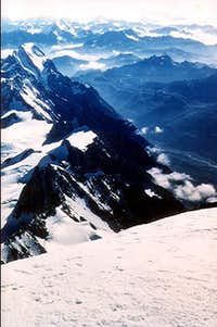 View from the top of Europe,...