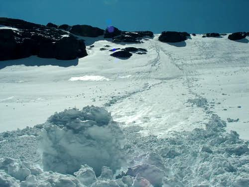 Point Avalanches on Ascent of...