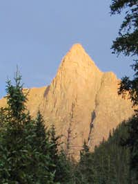 Alpenglow on Knifepoint from...