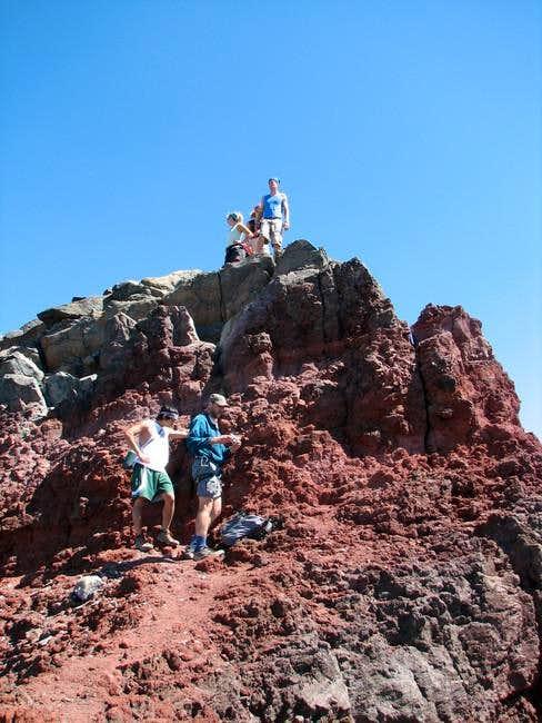 Broken Top summit pinnacle....