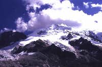 Huayna Potosí in 1994, Photo...