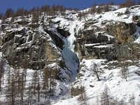 Icefall near Pont di...