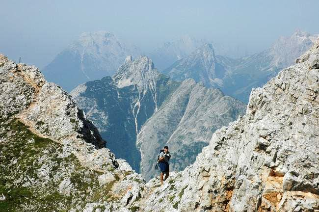Grosse Arnspitze from the...
