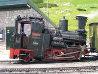 Old Schneeberg train (JUne...