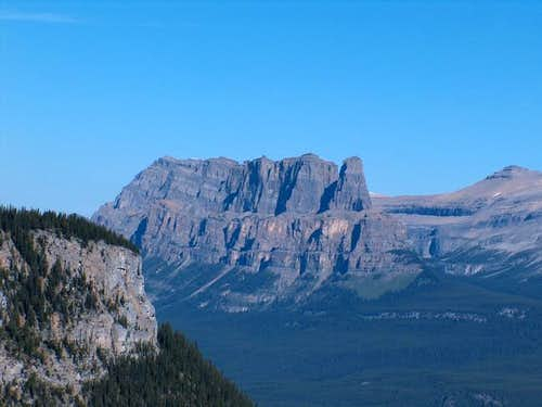 Castle Mountain from the...