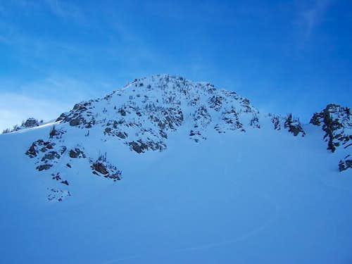 NE aspect of Mt. Tuscarora....