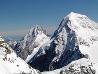 Eiger and Mönch seen from...