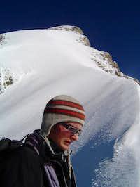 My guide (Lars Hofer) on the...