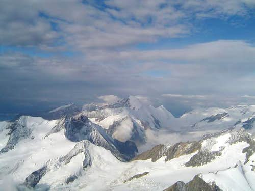 Aletschhorn from summit...