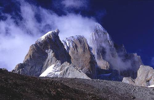 Monte Fitzroy - as seen from...