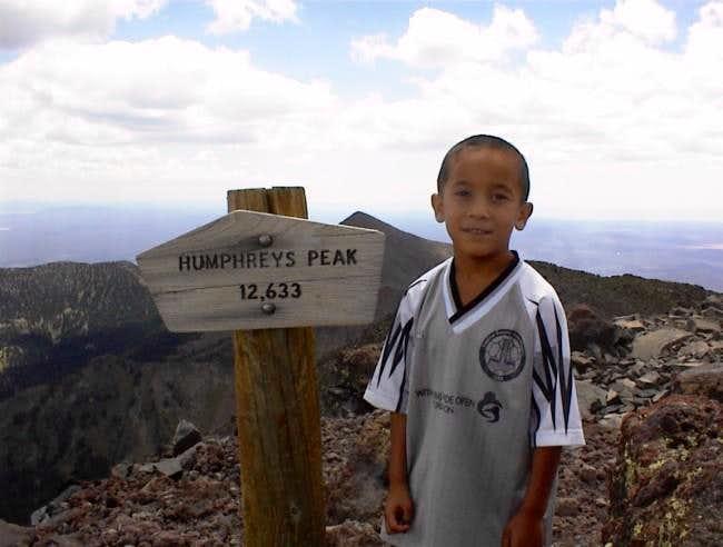 Jonathon Anderson, Age 6, at...