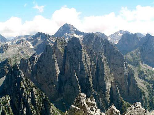 Prokletije massif from Karanfil