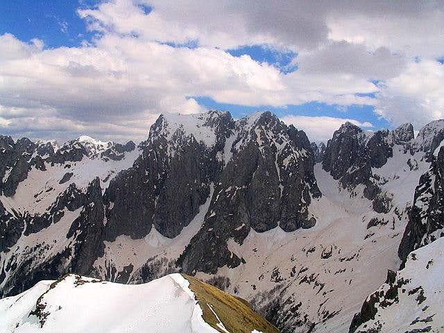 Popadija summit view