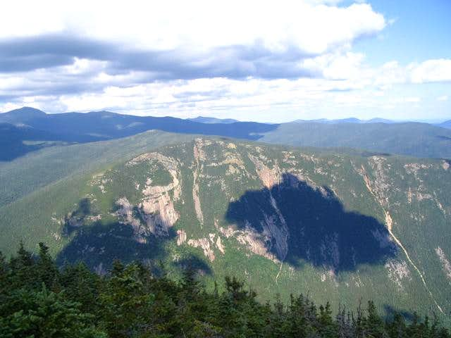 The ravine view from the Mt...
