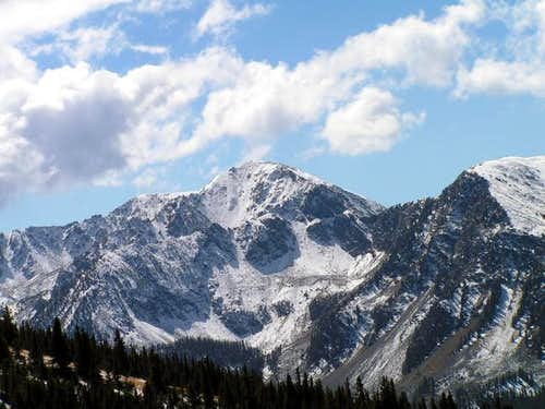 Lake Fork Peak from Bull of...