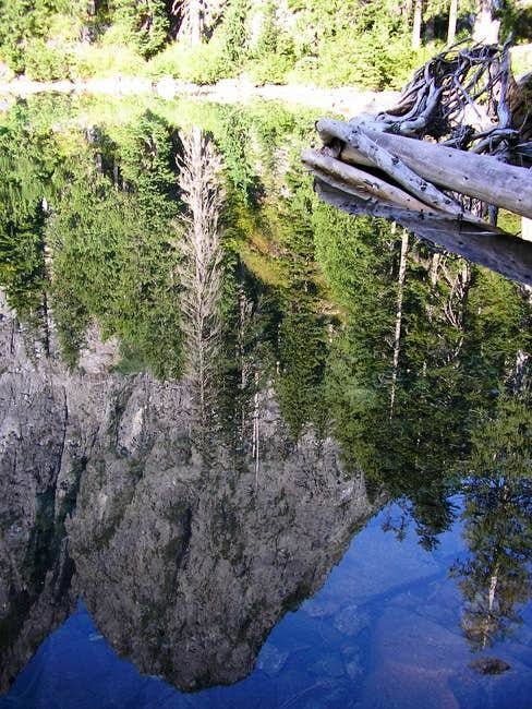 Mt Index reflecting in Lake...