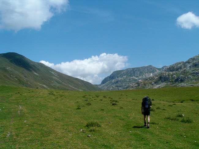Fusha Korabit. The steep...