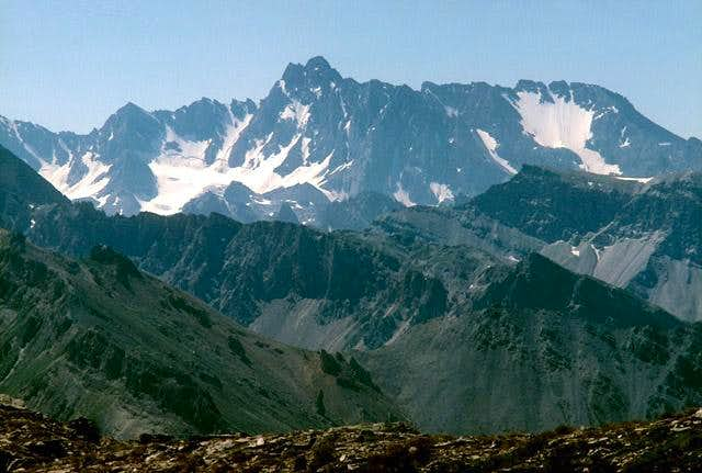 Northern side of Aiguille de...