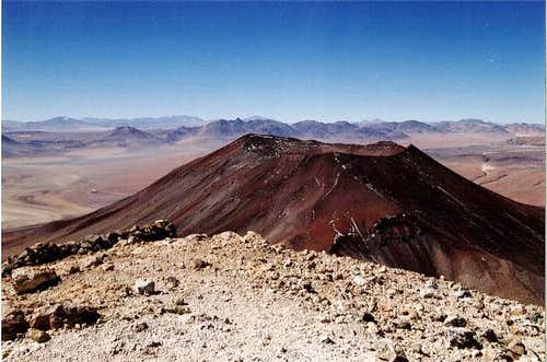Volcano Juriques from the...