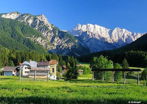 Ratece (850m) village is...