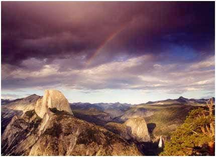 Half Dome, Clearing Storm...