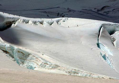 Easton Glacier. Pcture taken...