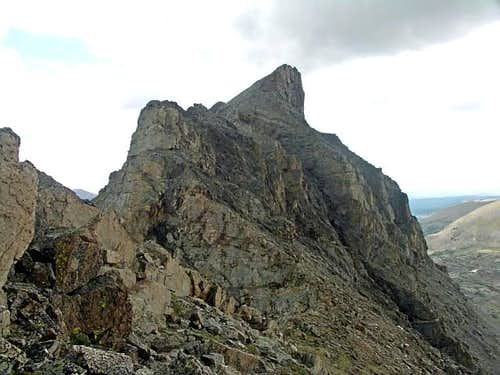The West Ridge of Elk Tooth