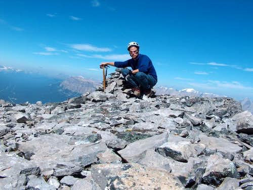 Pilot Mountain summit photo...