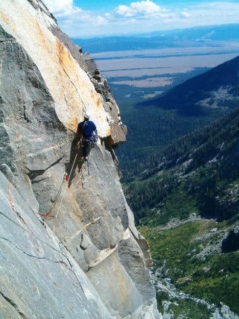 The 5.12/A1 crack high on the...