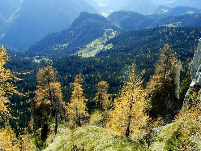 Southern slopes of Olsheva....