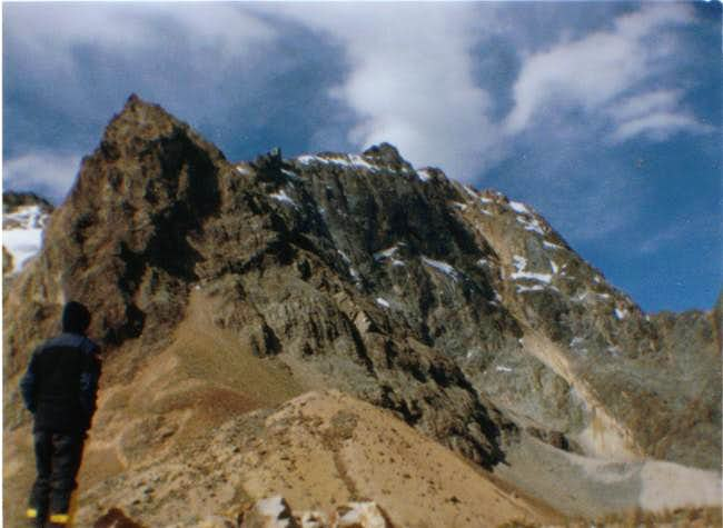 San Andres South Face