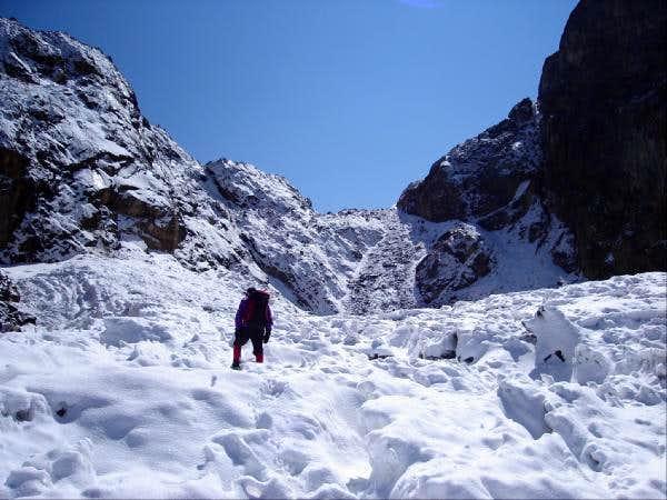 San Andres' glacier