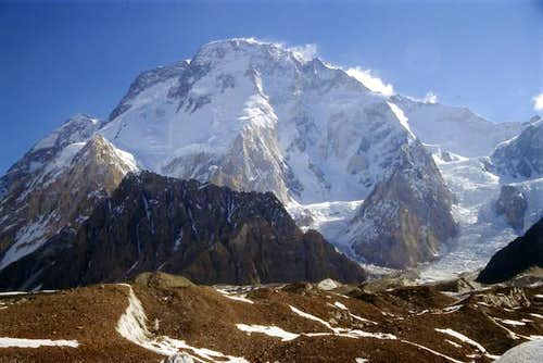 Broad Peak on a sunny day,...
