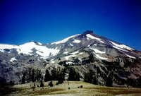 View of South Sister's...