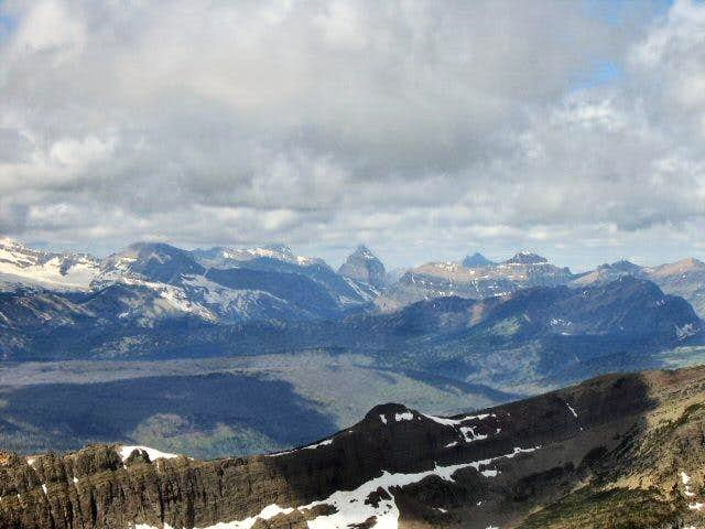 From the summit of Grinnell,...
