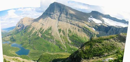 Panoramic image of Mount...