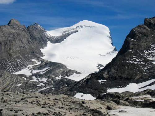 Mount Joffre's North Face...
