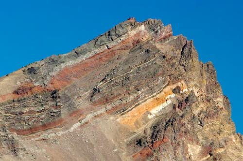 Fractured Crater Rim of...