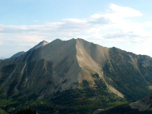 D.O. Lee Peak from the summit...