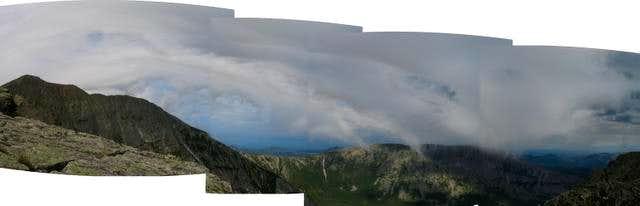 Cloud over Knife Edge /...