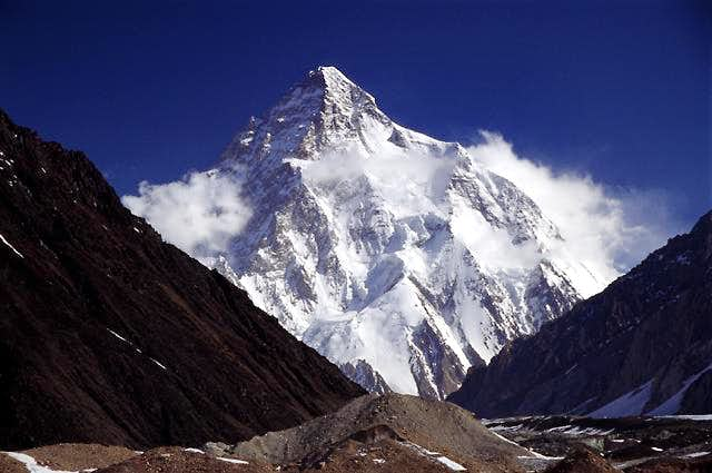 A shot of K2 from the classic...