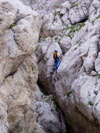 Climbing Alpina, July 2005